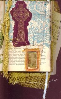 Page from my altered book.