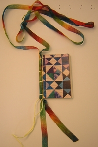 a little book necklace